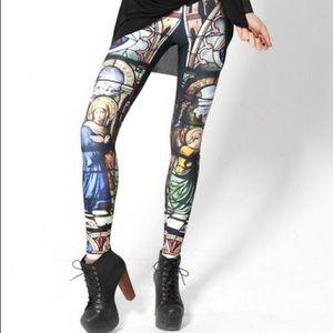 Blackmilk cathedral print leggings
